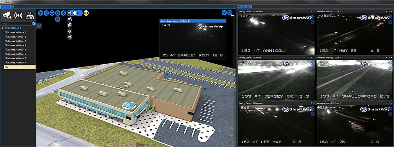 nupsys, nusim, 3d visualization, real-time, physical security for enterprise, carriers and government