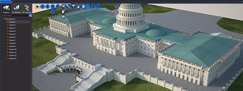 nupsys, nusim, 3d visualization, government security, government offices and embassies